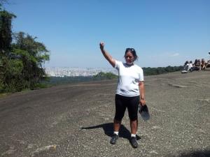 Endelig til topps på Pedra Grande