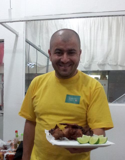 Restauranteier: Sandro Sampaio