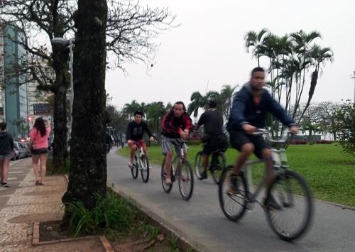 I Brasil synes stort sett alle å sykle uten hjelm