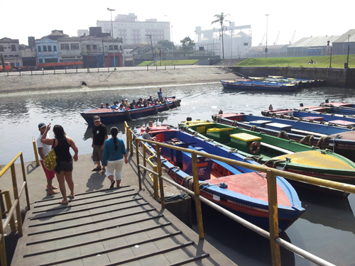 Enkel båtskyss fra Santos